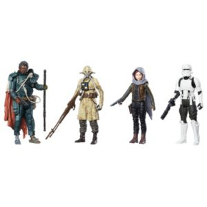 Star Wars: Rogue One Jedha Revolt 4-Pack Action Figures