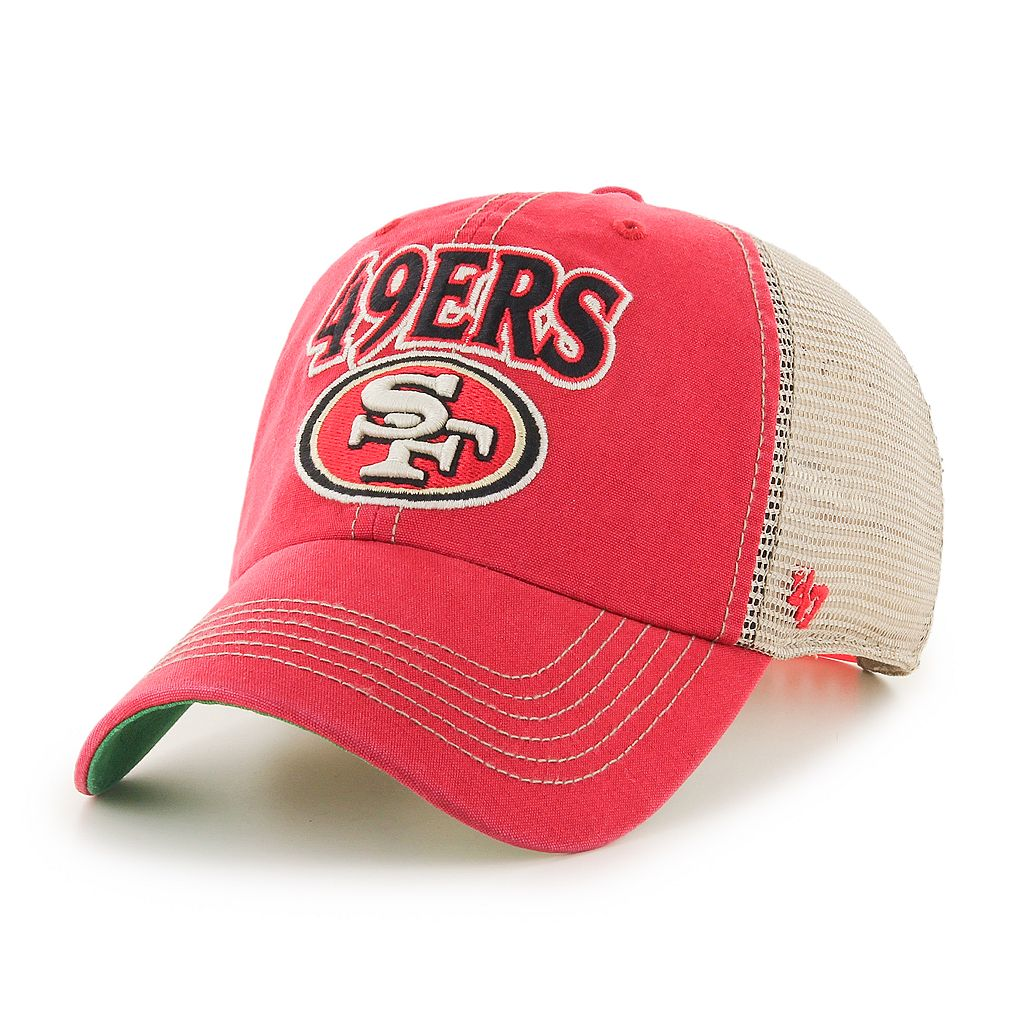 Adult '47 Brand San Francisco 49ers Tuscaloosa Adjustable Cap
