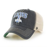 Adult '47 Brand Detroit Lions Tuscaloosa Adjustable Cap