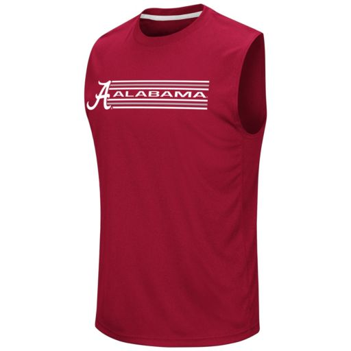 Men's Campus Heritage Alabama Crimson Tide Circuit Muscle Tee