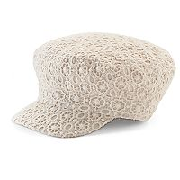 Women's SONOMA Goods for Life™ Floral Lace Cadet Hat
