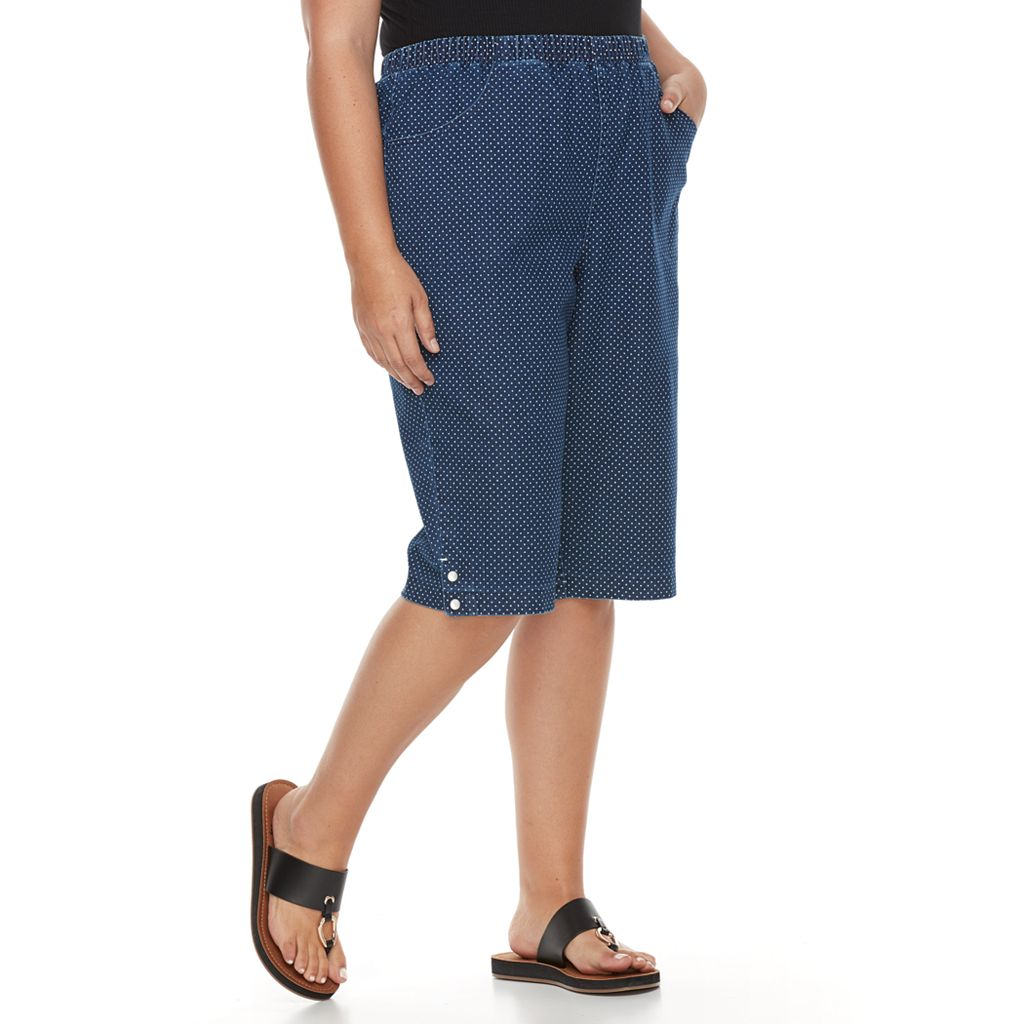 Plus Size Croft & Barrow® Jean Skimmer Capris