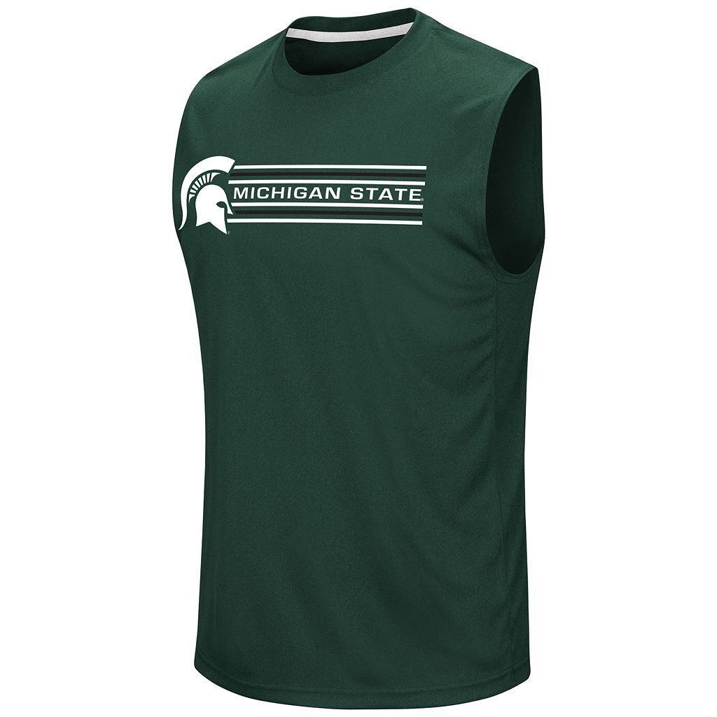 Men's Campus Heritage Michigan State Spartans Circuit Muscle Tee