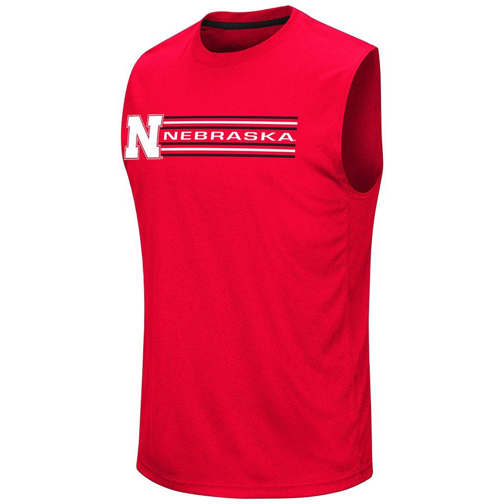 Men's Campus Heritage Nebraska Cornhuskers Circuit Muscle Tee
