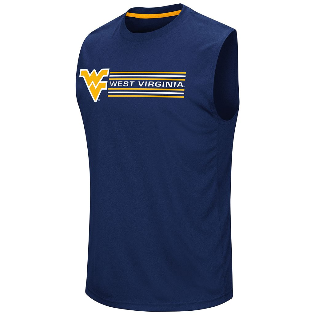 Men's Campus Heritage West Virginia Mountaineers Circuit Muscle Tee