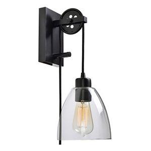 Kenroy Home Edis 1-Light Adjustable Wall Sconce
