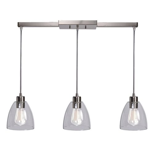 Kenroy Home 3-Light Ceiling Lamp