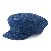 Women's SONOMA Goods for Life™ Denim Zigzag Cadet Hat