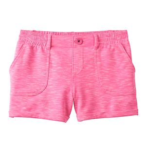 Girls 7-16 SO® French Terry Slubbed Soft Shorts