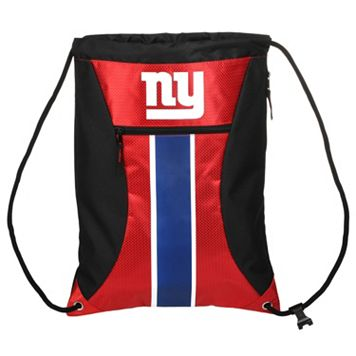 Forever Collectibles New York Giants Striped Zipper Drawstring Backpack