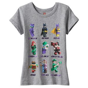 Girls 4-7 DC Comics Lego Batman Graphic Tee