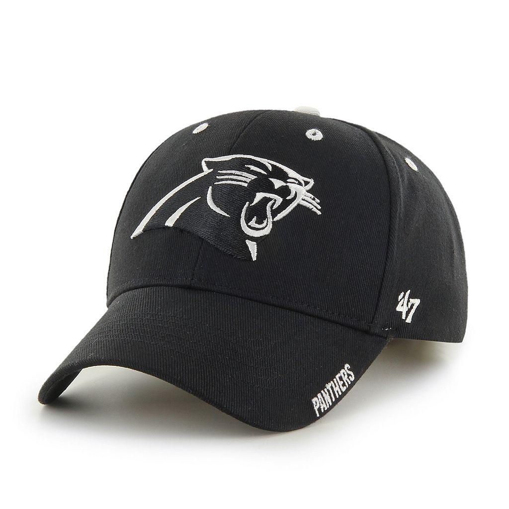 Adult '47 Brand Carolina Panthers Frost MVP Adjustable Cap