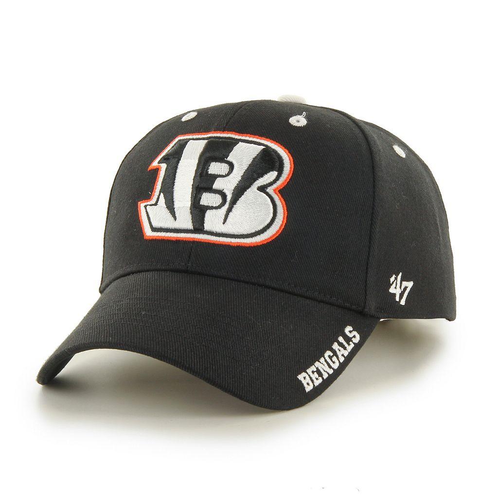 Adult '47 Brand Cincinnati Bengals Frost MVP Adjustable Cap