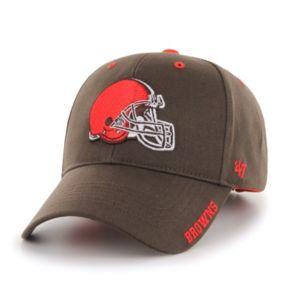 Adult '47 Brand Cleveland Browns Frost MVP Adjustable Cap