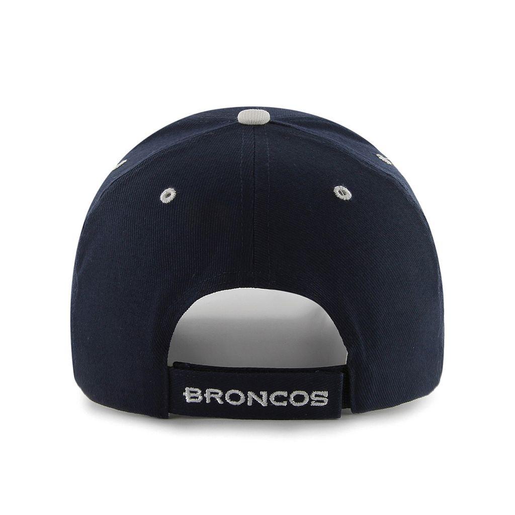 Adult '47 Brand Denver Broncos Frost MVP Adjustable Cap