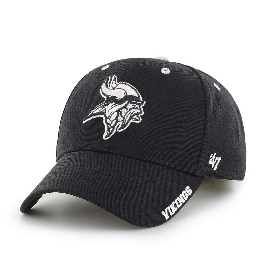 Adult '47 Brand Minnesota Vikings Frost MVP Adjustable Cap