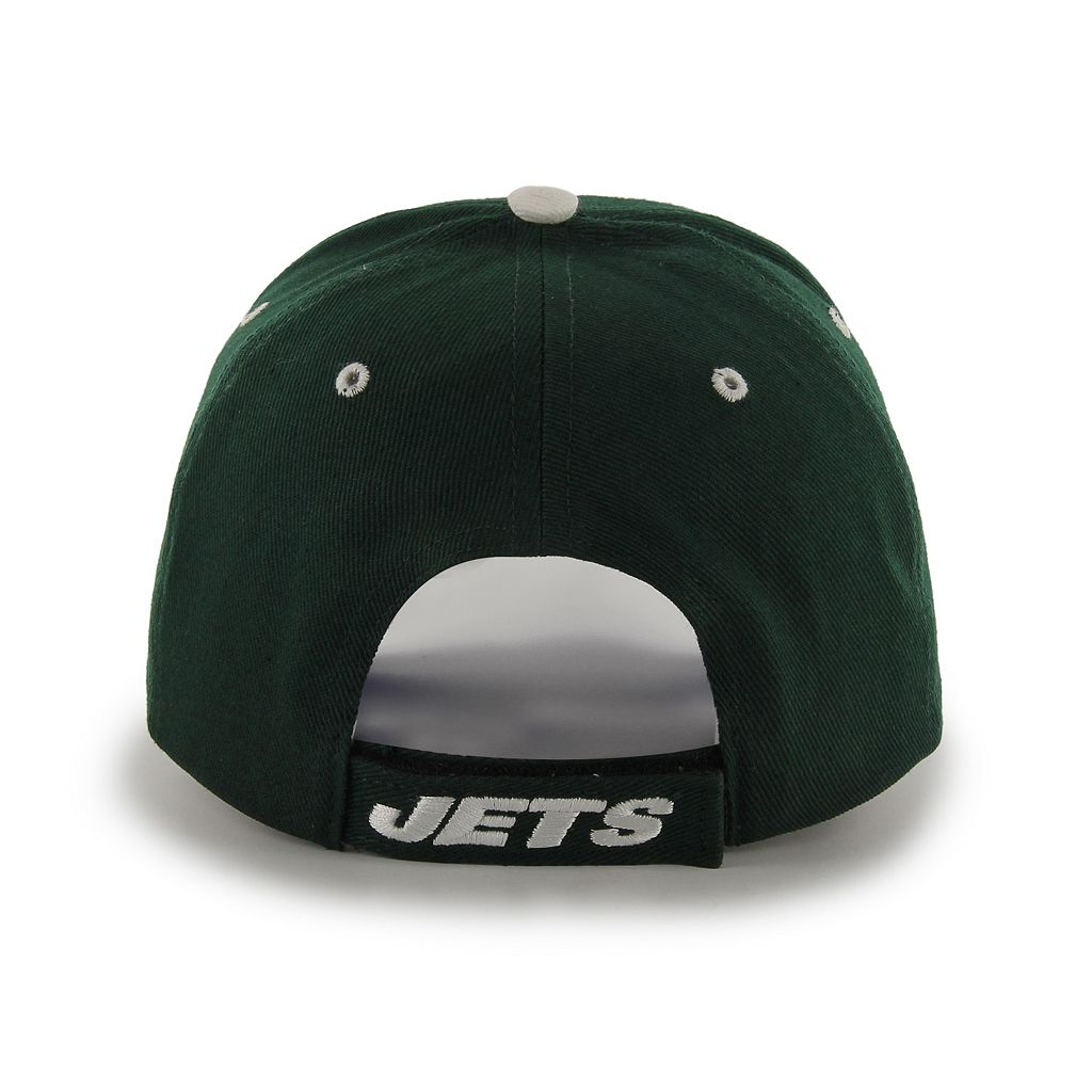 Adult '47 Brand New York Jets Frost MVP Adjustable Cap