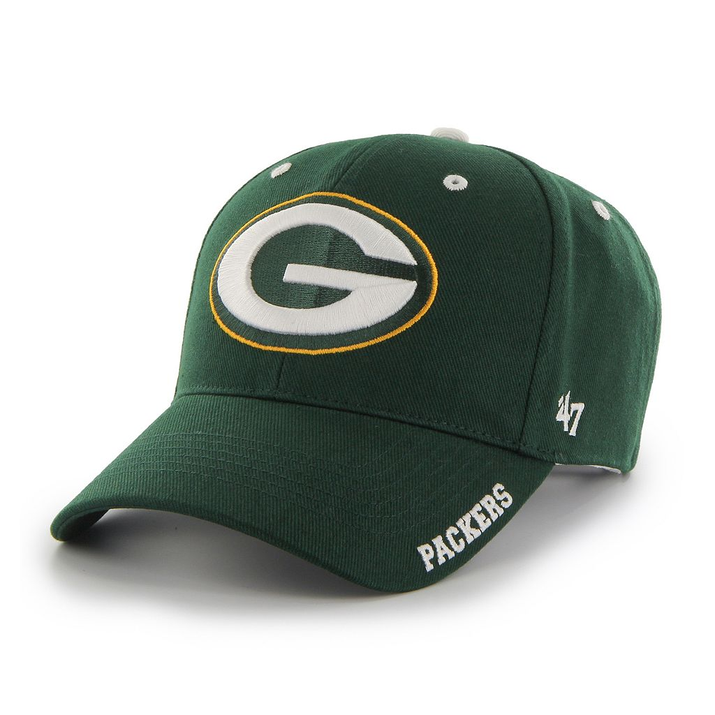 Adult '47 Brand Green Bay Packers Frost MVP Adjustable Cap