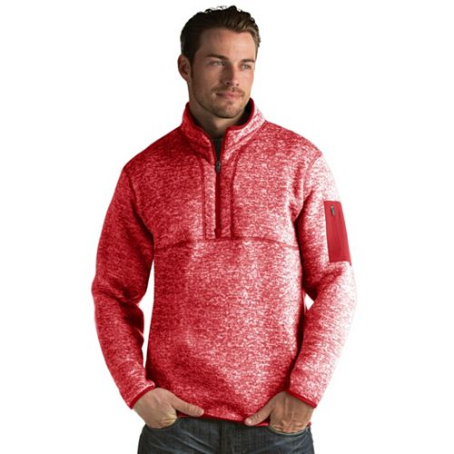 Men's Antigua Fortune Classic-Fit Half-Zip Pullover Sweater