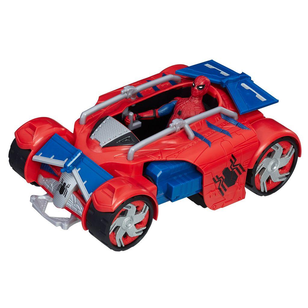 Marvel Spider-Man: Homecoming Spider-Man With Spider Racer Set