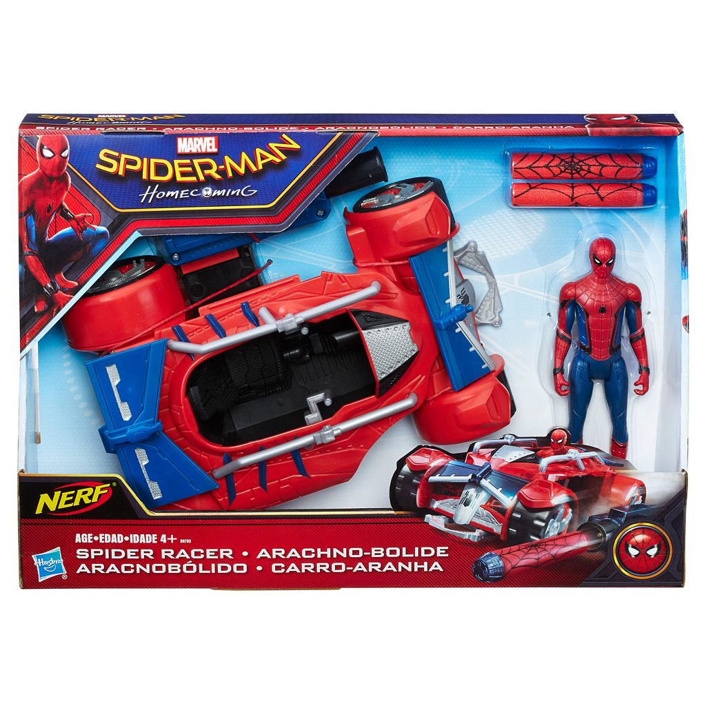 Marvel Spider-Man: Homecoming Spider-Man With Spider Racer Set