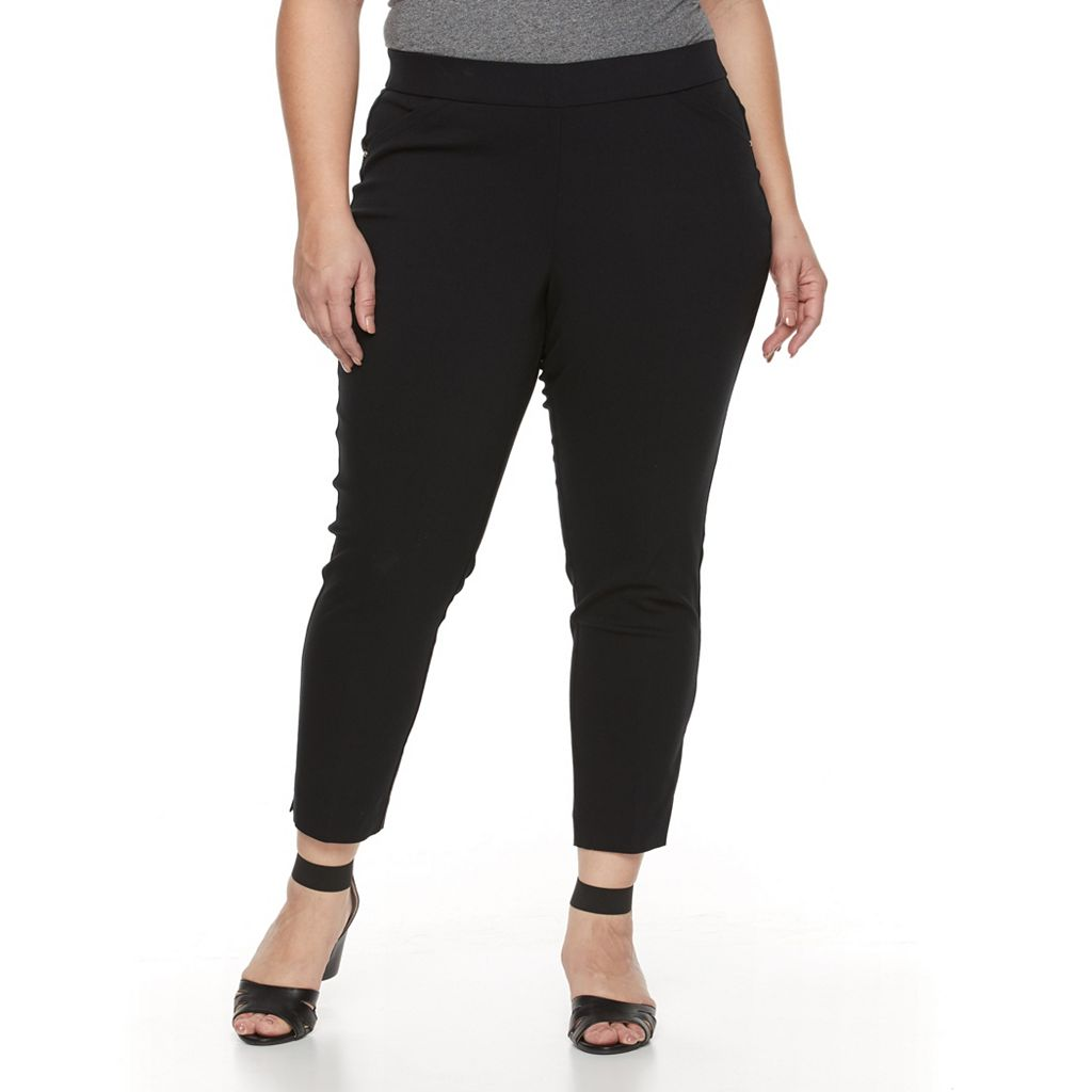 Plus Size Napa Valley Millennium Straight-Leg Pants