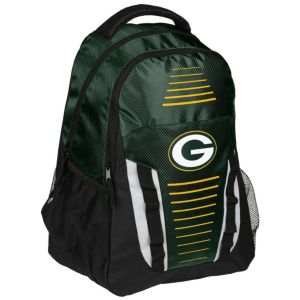 Forever Collectibles Green Bay Packers Stripe Franchise Backpack