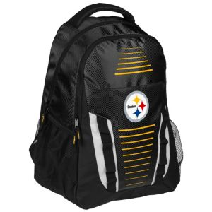 Forever Collectibles Pittsburgh Steelers Stripe Franchise Backpack