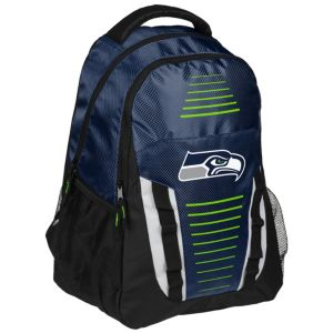 Forever Collectibles Seattle Seahawks Stripe Franchise Backpack