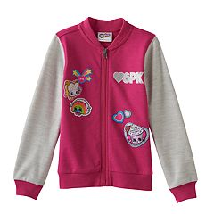 Girls 4-7 Shopkins Bomber Jacket