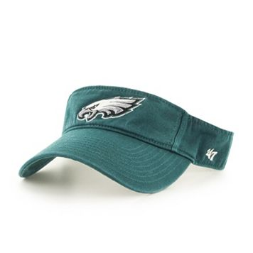 Adult '47 Brand Philadelphia Eagles Clean Up Visor