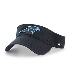 Adult '47 Brand Carolina Panthers Clean Up Visor
