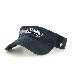Adult '47 Brand Seattle Seahawks Clean Up Visor