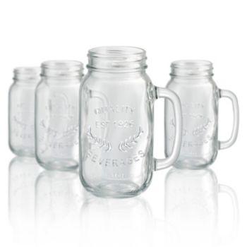 Artland 4-pc. Mason Jar Beer Mug Set