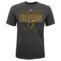 Boys 8-20 Majestic Pittsburgh Pirates Heirloom Tee