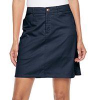Women's Croft & Barrow® Essential Twill Skort