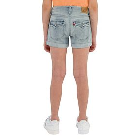 Girls 7-16 & Plus Size Levi's Thick Stitch Shortie Shorts