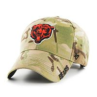 Adult '47 Brand Chicago Bears Multicam Myers Adjustable Cap