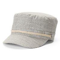 Women's SONOMA Goods for Life™ Rope Trim Cadet Hat