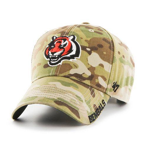 Adult '47 Brand Cincinnati Bengals Multicam Myers Adjustable Cap
