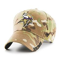 Adult '47 Brand Minnesota Vikings Multicam Myers Adjustable Cap