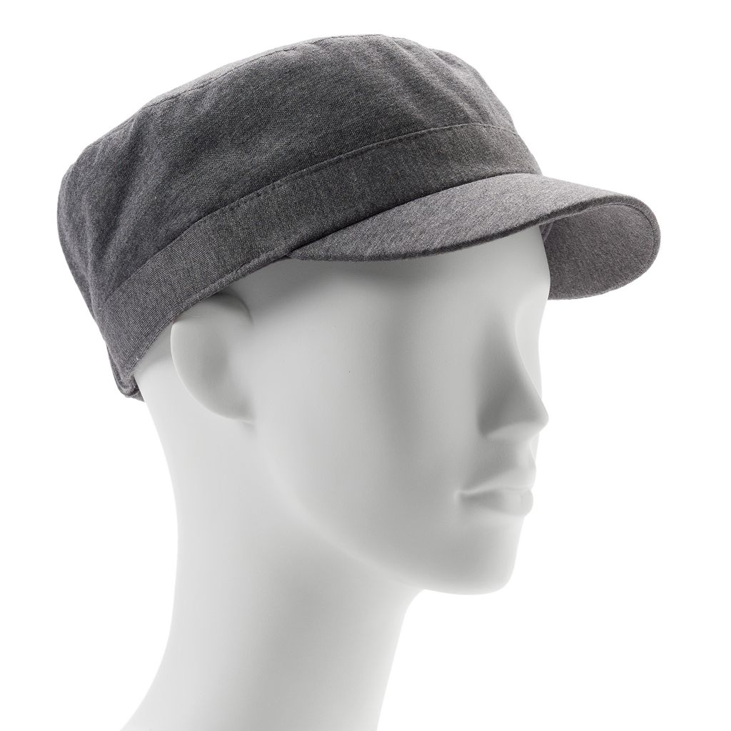 Women's SONOMA Goods for Life™ Solid Jersey 3-Button Cadet Hat