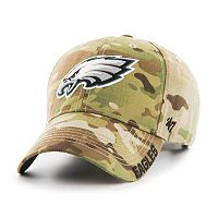 Adult '47 Brand Philadelphia Eagles Multicam Myers Adjustable Cap
