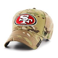 Adult '47 Brand San Francisco 49ers Multicam Myers Adjustable Cap