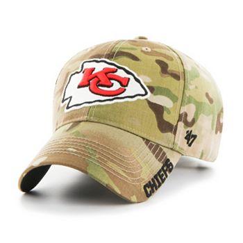 3bc5b856ea6 Adult  47 Brand Kansas City Chiefs Multicam Myers Adjustable Cap