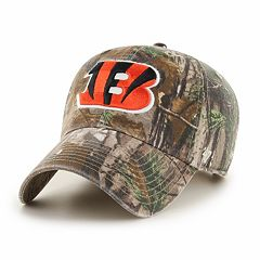 Adult '47 Brand Cincinnati Bengals Realtree Clean Up Adjustable Cap