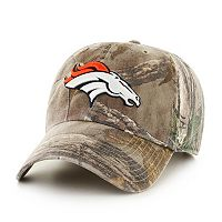 Adult '47 Brand Denver Broncos Realtree Clean Up Adjustable Cap