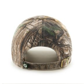 Adult '47 Brand Green Bay Packers Realtree Clean Up Adjustable Cap