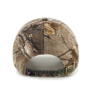 Adult '47 Brand Houston Texans Realtree Clean Up Adjustable Cap