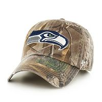 Adult '47 Brand Seattle Seahawks Realtree Clean Up Adjustable Cap